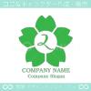2数字,桜,さくら,フラワー,花のイメージのロゴマークデザイン