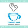 コーヒー,カフェ,喫茶店,飲料をイメージしたロゴマークデザインです。