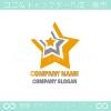 星,スターをイメージしたロゴマークデザインです。