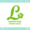 Lアルファベット,ハイビスカスのイメージのロゴマークデザインです。