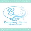 Bアルファベット,リーフ,幸運のイメージのロゴマークデザインです。
