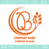 文字B,リーフ,ユニークなイメージのロゴマークデザインです。
