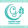 文字G,リーフ,ユニークなイメージのロゴマークデザインです。