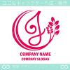 J文字,リーフ,ユニークなイメージのロゴマークデザインです。
