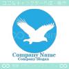 鷹,タカ,鳥のイメージのロゴマークデザインです。