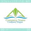 矢,上昇,山,水のイメージのロゴマークデザインです。