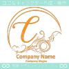 Cアルファベット,波,海,月,芸術のロゴマークデザインです。