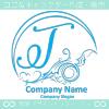 Tアルファベット,アート,海,波,月のロゴマークデザインです。