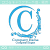 C文字、アメージング、貴族の紋章のイメージのロゴマークデザイン