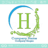 H文字、アメージング、素晴らしいイメージのロゴマークデザイン