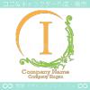 I文字、ヨーロッパ、王族の紋章のイメージのロゴマークデザイン