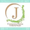 J文字、ヨーロッパ、王族の紋章のイメージのロゴマークデザイン