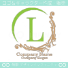 L文字、ヨーロッパ、王族の紋章のイメージのロゴマークデザイン