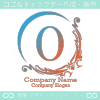O文字、ヨーロッパ、王族の紋章のイメージのロゴマークデザイン