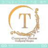 T文字、アメージング、欧米風のイメージのロゴマークデザイン