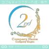 2周年記念、中世ヨーロッパのイメージのロゴマークデザインです。