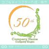 50周年記念、中世ヨーロッパのイメージのロゴマークデザインです。