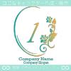 数字2、花、ローズ、鏡、ヨーロピアンをイメージしたロゴマークです。
