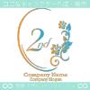 1周年記念、鏡、薔薇、魅了をイメージしたロゴマークデザインです。
