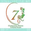 数字7、花、ローズ、鏡、ヨーロピアンをイメージしたロゴマークです。