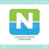 N文字、水、グリーンをイメージしたロゴマークデザインです。