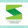 S文字、グリーンをイメージしたロゴマークデザインです。
