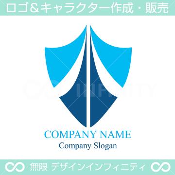 安全,盾,セキュリティー,保護をイメージしたロゴマークデザインです。